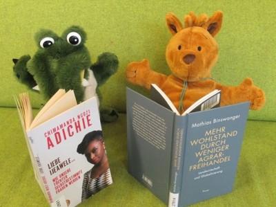 Lesen in der Bibliothek